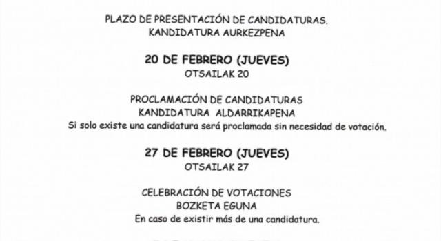 PROCESO ELECTORAL 2020