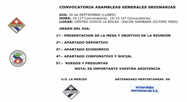 CONVOCATORIA ASAMBLEA TEMPORADA 2019-2020