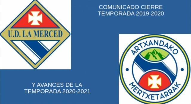 COMUNICADO CIERRE TEMPORADA 2019-2020 Y AVANCES 2020-2021